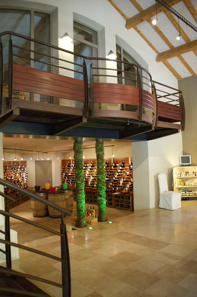 pr sentation de la maison des vins coteaux varois en. Black Bedroom Furniture Sets. Home Design Ideas